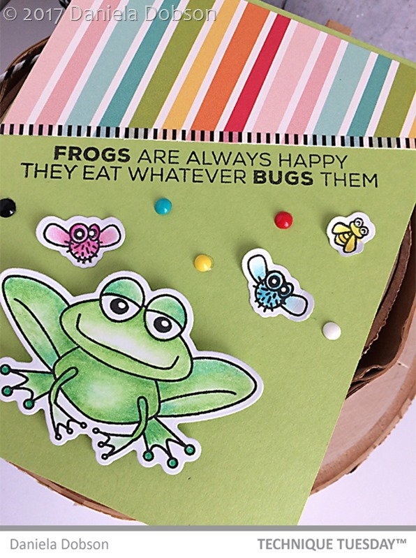 Frogs are happy close by Daniela Dobson