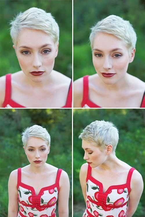 Popular Short Pixie Haircut Pictures 2018