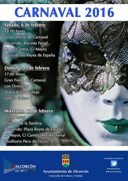 Carnaval 2016 en Alcorcón