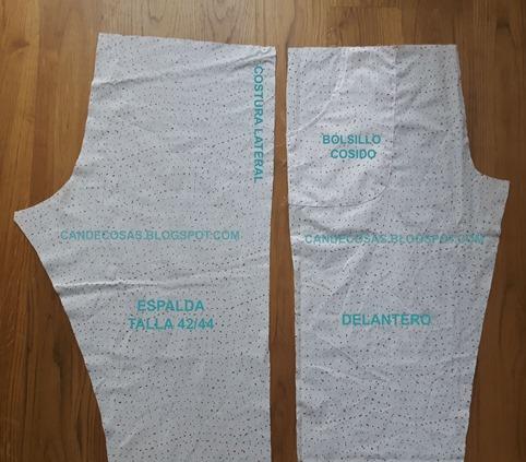 Pijama costura lateral