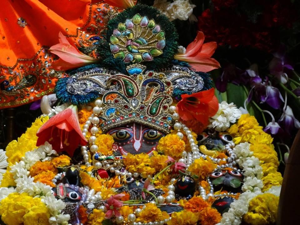 ISKCON Punjabi Bagh Deity Darshan 09 April 2016 (3)