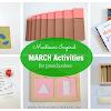 Montessori Inspired March Activities for Preschoolers