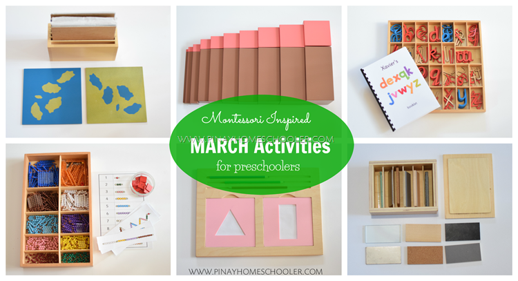 Montessori Inspired March Activities for Preschoolers