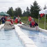 Us versus Them Canoe Race