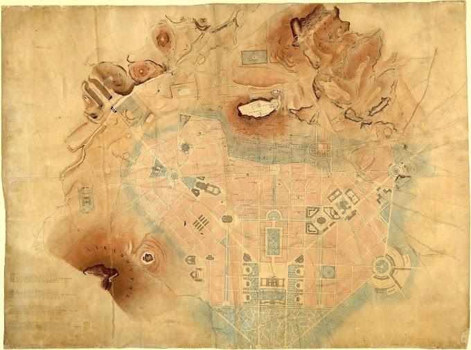 Αττική. Δυτικοί λόφοι. Πνύκα : Στοιχεία από το  3200 π.Χ. έως τον 19ο αιώνα.