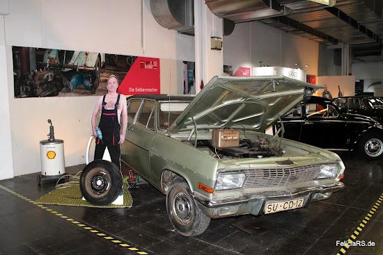 Opel Admiral Scheunenfund