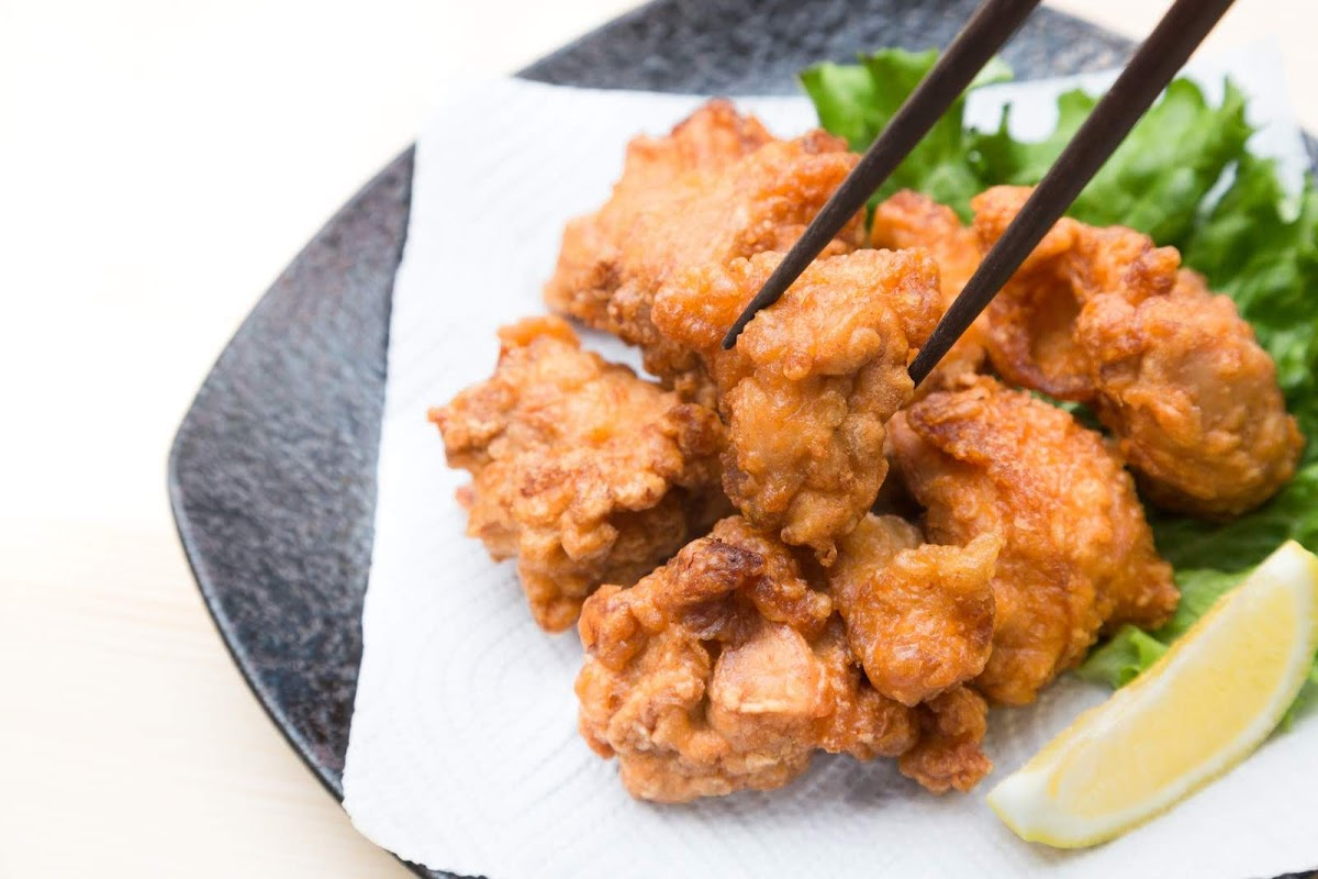 鶏の梅茶唐揚げ(サタプラ・サタデープラスで紹介)お茶漬け海苔で唐揚げのレシピ
