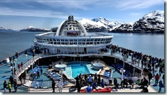Crown Princess in Glacier Bay