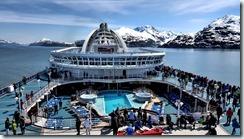 Crown Princess in Glacier Bay
