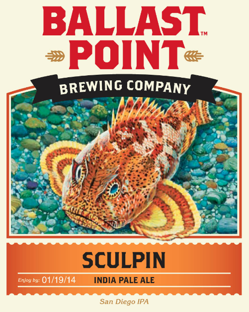 Logo of Ballast Point Sculpin IPA