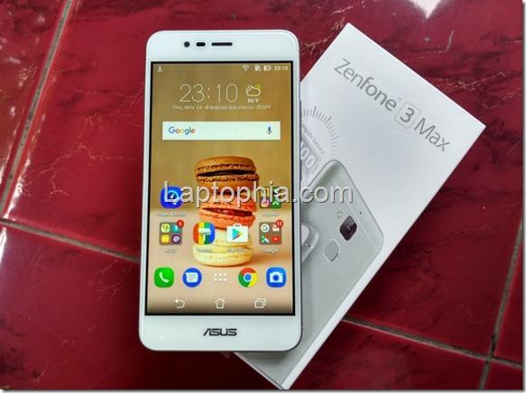 Unboxing Asus Zenfone 3 Max ZC520TL
