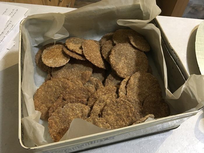 42 Sourdough Crackers 18-9-18