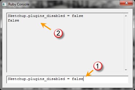 การเปิด/ปิดการทำงานของปลั๊กอินทั้งหมดใน SketchUp 8.0.11752 Surubyturnoff05