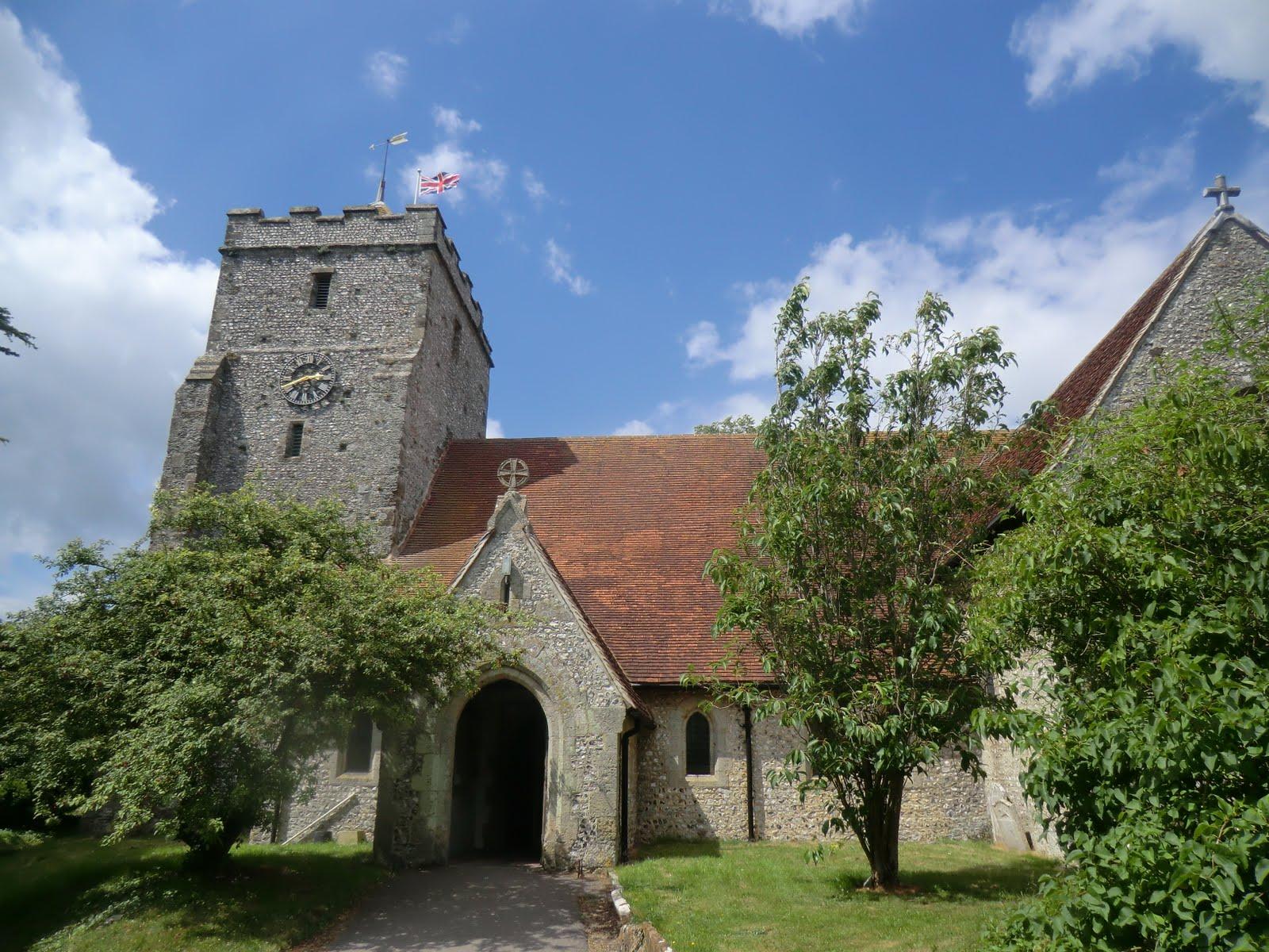 CIMG8850 St Mary the Virgin church, Burpham