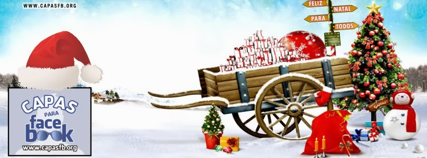 Capas de Natal para Facebook