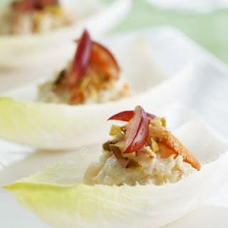 Crab Salad Filled Belgium Endive Leaves