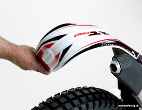 Photo: Gas Gas pro trial new flexy mudguard