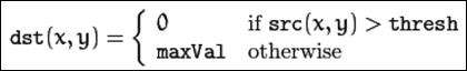 Umbral binario invertido (THRESH_BINARY_INV)