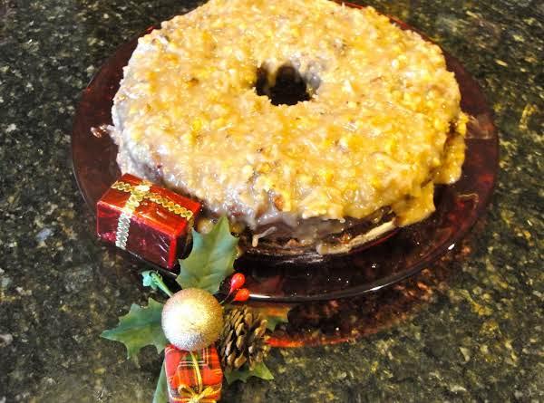Christmas Fruit Pudding Cake