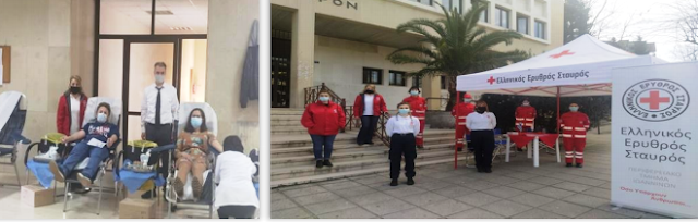 Γιάννενα: 33 φιάλες αίματος… από την αιμοδοσία του Ελληνικού Ερυθρού Σταυρού!