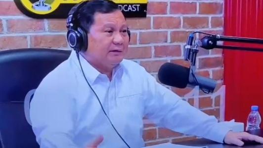 Selalu Diam Seribu Bahasa, Prabowo Subianto: Ada yang Mau Jual Bangsanya pada Asing