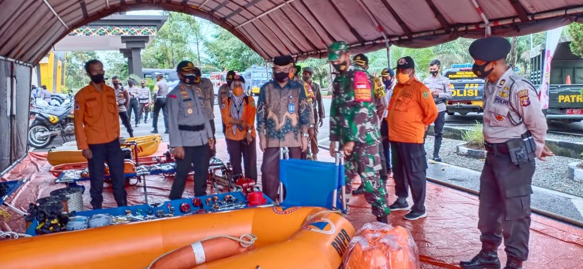 TNI Dan Polri Di Wilayah Ibu Kota Negara Gelar Konsolidasi Kesiapan Penanganan Bencana Alam