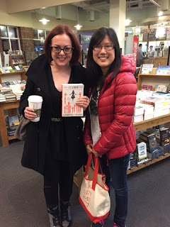 I got to meet the one and only V.E. Schwab!