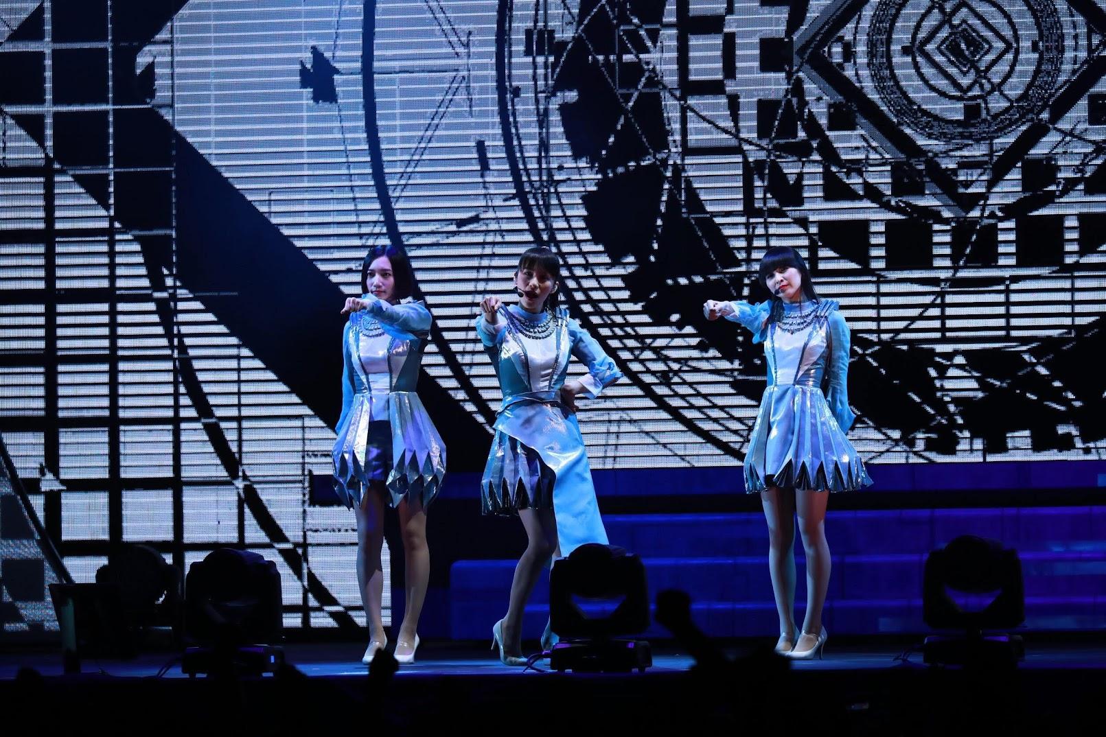 【迷迷現場】Perfume 台大體育館開唱 釣蝦初體驗演出也入梗讚