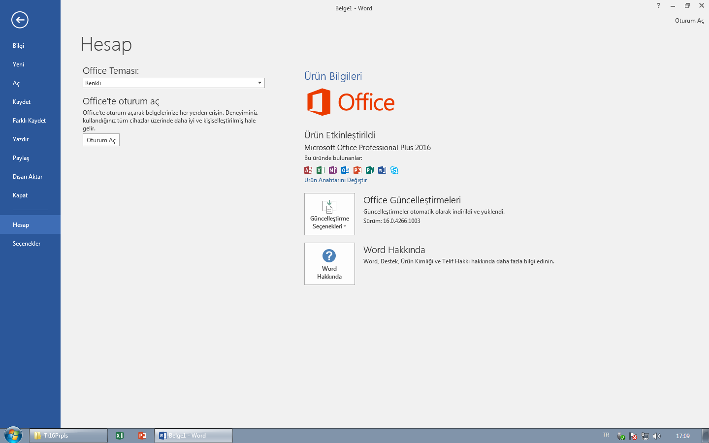 Office 2016 Pro Türkçe Final Full - 32 ve 64 Bit
