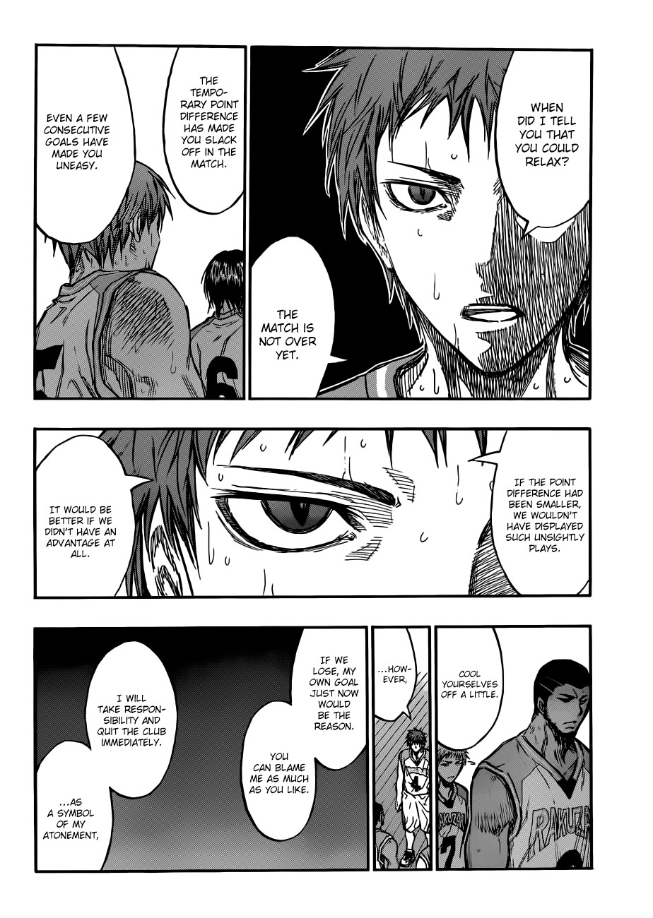 Kuroko no Basket Manga Chapter 181 - Image 14