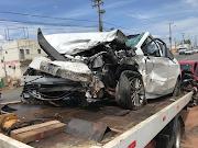Empresário Neto Flor e família se envolve em grave acidente em Morada Nova- Teresina.