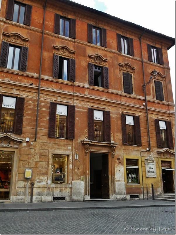Babinton's Tea Rooms, Rome