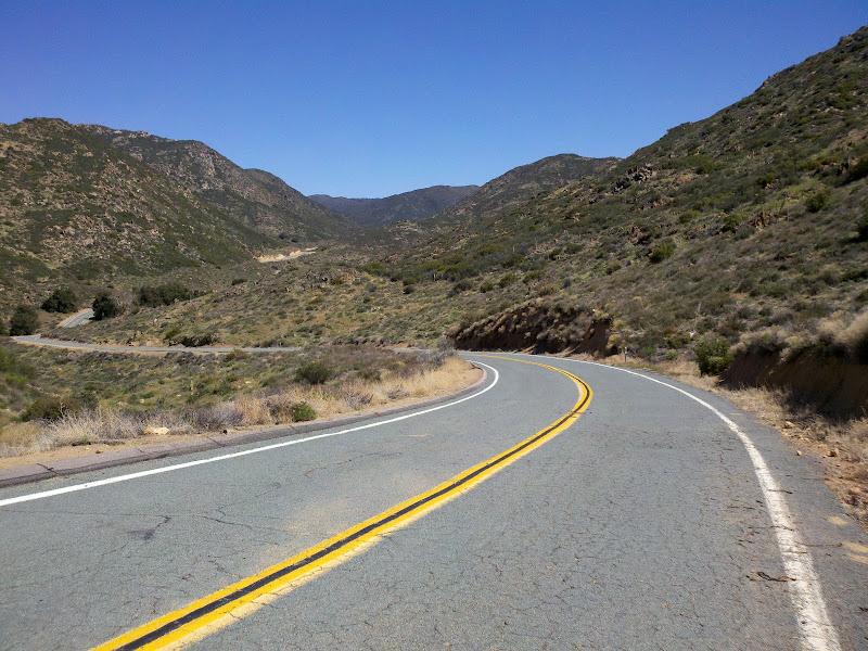 Mount Laguna Bicycle Classic • Kitchen Creek Road (Before Gate)