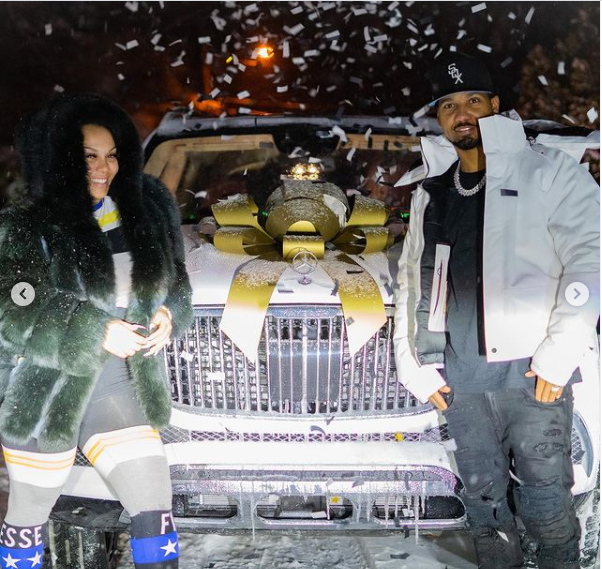 Rapper Juelz Santana's wife, Kimbella Vanderhee surprises him with Maybach Truck for his 39th birthday (Photos/Video)