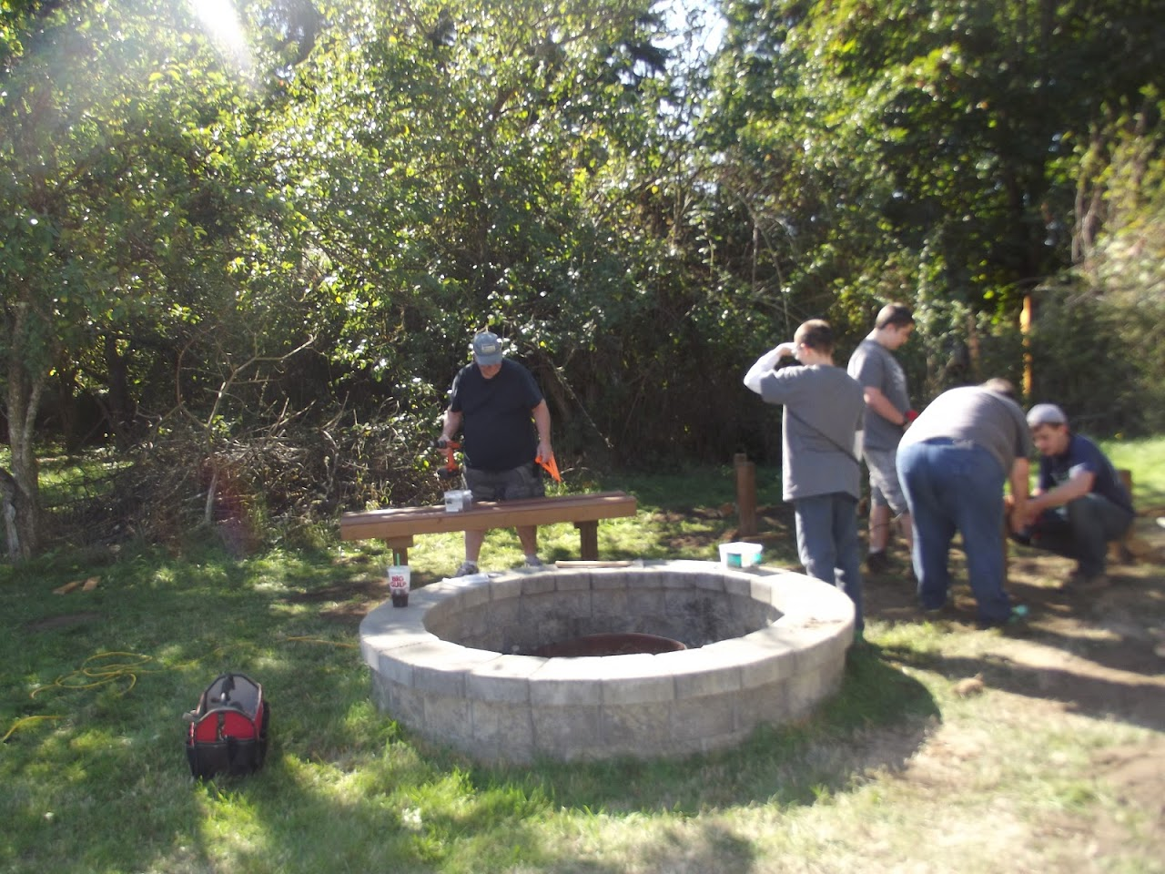 Carsons Eagle Project - October 2015 - DSCF3837.JPG