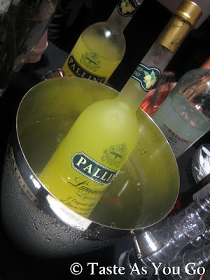 Pallini Limoncello at Meatball Madness at Food Network New York City Wine & Food Festival  - Photo by Taste As You Go