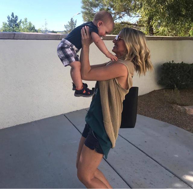 Thrifty Wife, Happy Life- Summer tank Cardimom