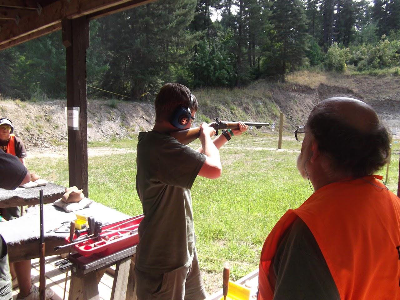 Ben shooting the Black Powder