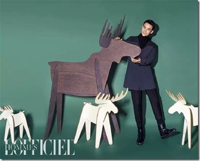 Wang Kai X L'OFFICIEL HOMMES 王凱 X 時裝男士 2015 Dec Issue 05