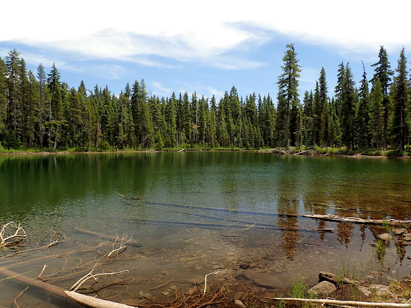 Fourmile Lake Sky Lakes Wilderness Oregon