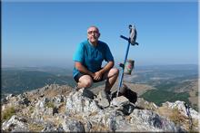La Fontañán mendiaren gailurra 1.629 m. -- 2015eko uztailaren 11an