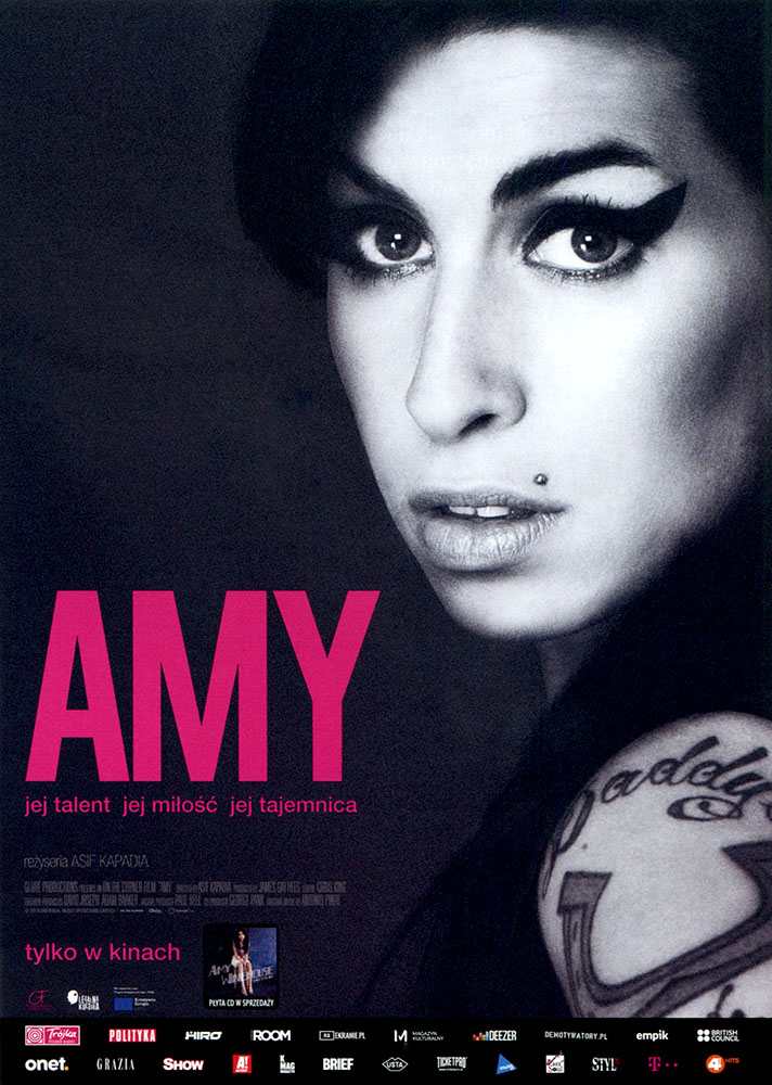 Ulotka filmu 'Amy (przód)'