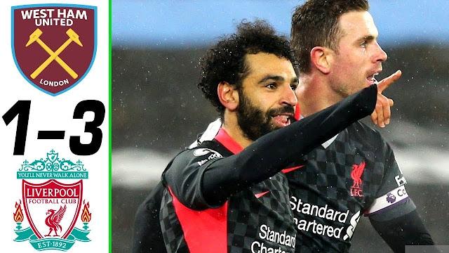 6 Fakta Menarik Ketika Liverpool Menang Lawan West Ham United.