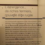 """Archéa : exposition permanente, panneau """"L'émergence de riches fermiers, nouvelle élite rurale"""""""