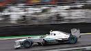 Lewis Hamilton in the Silver Arrow