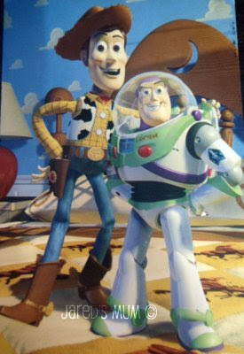 Toy Story, my favorite things, colorful things