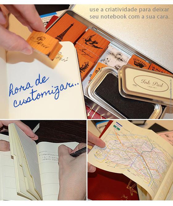 planejamento2 - Moleskines para planejar e eternizar a viagem