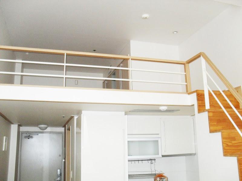 korea seoul house rent short beautiful 14th floor loft house
