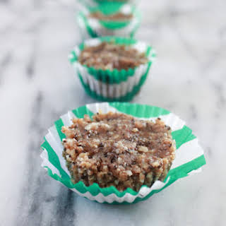 Raw Nutty Seed Cupcakes..