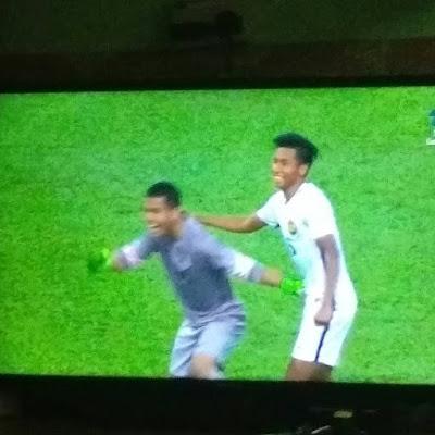 Malaysia layak ke final bola sepak sukan sea 2017